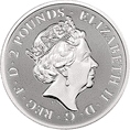2020 Silver 1oz Valiant £2